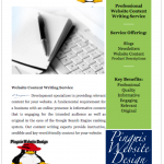 Irish Content Writing Services